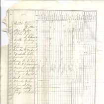 Image of Teacher's School Register 1876 Bingham