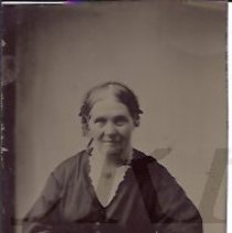 Image of Lucy Butterfield Robinson - Tintype - 2011.10.54