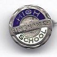 Image of Bingham High School Pin 1925