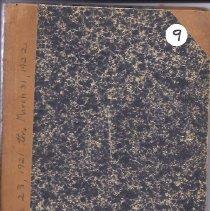 Image of Diary of Abbie Spaulding - Vol. 9 - 2011.32.11