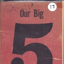 Image of Diary of Abbie Spaulding - Vol. 17 - 2011.32.19