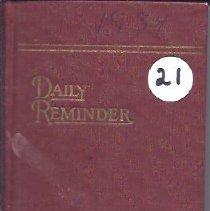 Image of Diary of Abbie Spaulding - Vol. 21 - 2011.32.23