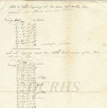 Image of 1812 Survey - Last Page