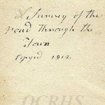 Image of 1812 Survey - Cover