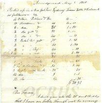 Image of Josiah Peet Corresondence 1847-8 - 2011.8.63.2