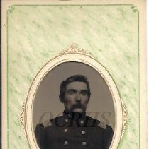 Image of Major Bill Baker of Moscow, Tintype - 2011.8.8