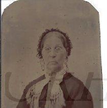 Image of Elizabeth Baker Goodrich - Tintype - 2012.13.105
