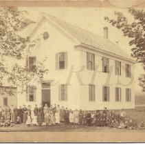 Image of The Old School - Bingham ME about 1893 - 2012.13.108