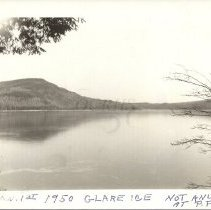 Image of Glare Ice at Pleasant Pond 1950