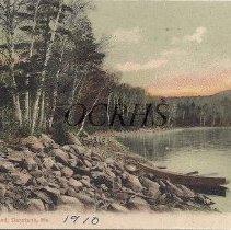 Image of Pleasant Pond, Caratunk, Me. - 1910 - 2012.13.77