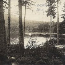 Image of South Beach at Pleasant Pond Before 1912 - 2012.13.88