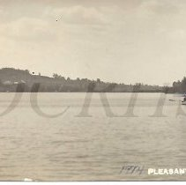 Image of Rowboat on Pleasant Poind 1914