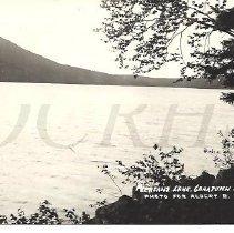 Image of Pleasant Lake, Caratunk Me for Albert B. Clark - 2012.13.95