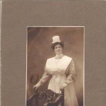 Image of Angeline Robinson in Nurse's Uniform - 2012.31.26