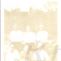 Image of Photograph of Six Bingham Area Men  - 2015.22.23
