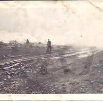 Image of Men at Work Site - Railroad Tracks - 2015.22.36