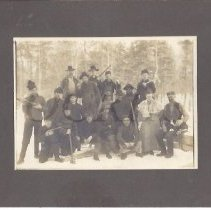 Image of W.S. Steward and Logging Camp Crew - 2015.22.5