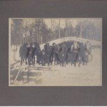 Image of Huze's Logging Crew 1909 - 2015.22.6