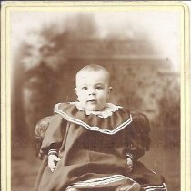 Image of Clarence Leighton Spaulding as a Baby - 2015.23.52