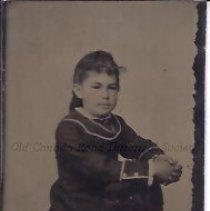Image of Blanche Foss as a Young Girl - 2015.23.63