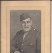Image of Eldon Spaulding, Sr. in Military Uniform - 2015.23.73
