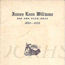 Image of James Leon Williams 1852-1932 - 2015.25.4