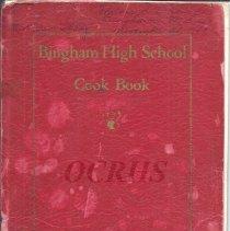 Image of Bingham High School Cook Book - 2016.24.1