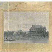 Image of House and Barn, Moosehead Area