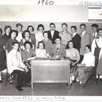 Image of Staff of the Boreas Yearbook, 1960 - 2017.7.4