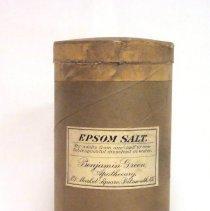 Image of Container, Medicine - Epsom Salt