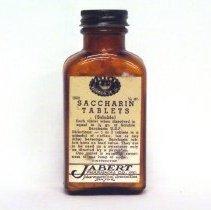 Image of Bottle, Medicine - Saccharin Tablets