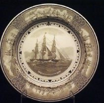 "Image of Plate, Commemorative - ""Nightingale."""