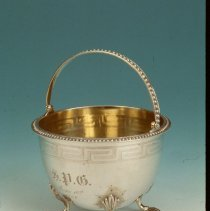 Image of Basket - Silver Basket