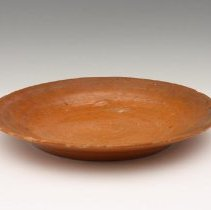 Image of Plate, Orange ware by Unknown