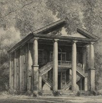 Image of Eumenean Literary Society Hall, Davidson College by Louis Orr