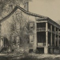 Image of The Leigh House near Edenton, NC by Louis Orr