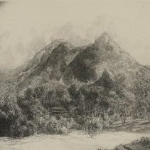 Image of Grandfather Mountain, near Linville, NC by Louis Orr
