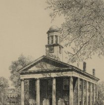 Image of Orange County Courthouse, Halifax, NC by Louis Orr