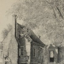 Image of Plantation, Negro Servant's Cabin, Hillsboro, NC by Louis Orr