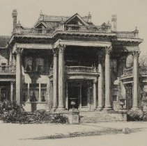 Image of Blades House, New Bern, NC by Louis Orr