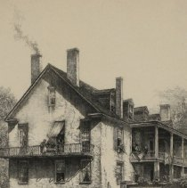 Image of General Lillington's House, Wilmington, NC by Louis Orr