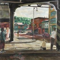 Image of Beneath the Tracks at Manayunk by Francis Speight