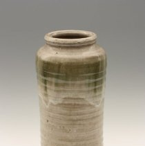 Image of Vase with grey/brown glaze by Jim Whalen