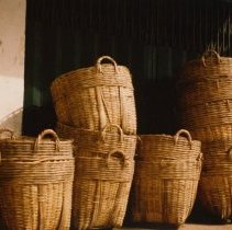 Image of Bread Baskets- Tan Dinh Market, Hai Ba Trung Street, Saigon by Jerry Raynor