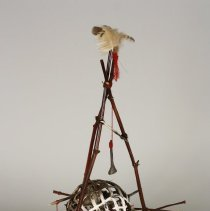 Image of Sculpture - Ritzer is a local Greenville, NC mixed media artist
