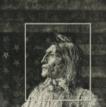 Image of Graphic - Ray Elmore was an art professor at several Universities including University of Michigan, Eastern Michigan University, University of New Hamshire, and East Carolina University.