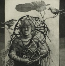 Image of Graphic - Donald Sexauer is a highly respected and accomplished printmaker. Mr. Sexauer's work has appeared in more than 100 regional and national competitive exhibitions, 40 invitational exhibitions, and 23 one-man shows. Since receiving his master of arts degree from Kent State University in 1960, he has been associated with East Carolina University , where he is a professor of Printmaking.