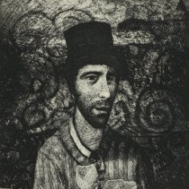 Image of Graphic - Paul Hartley was from Greenville, NC.  He was a painting professor at East Carolina University for over 30 years.  He died in 2009.