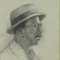 Image of Drawing - Self-taught African American artist residing in Greenville, North Carolina.