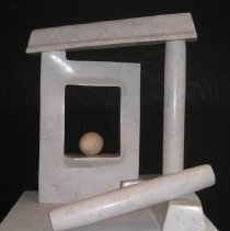 Image of Sculpture - As an artist, Horace Farlowe's (1933-2006) career alternated between years spent as a painter and long periods as a stone sculptor. Farlowe had exhibited at many college campuses and galleries in Georgia and North Carolina. He was awarded prestigious commissions for public sites, including the North Carolina Zoological Park in Ashboro, and the Cumberland County Public Library, in Fayetteville, NC. Other sculptures have been acquired by the Mint Museum and the North Carolina Museum of Art, both in raleigh, as well as by many coporate collections. He also taught sculpture at several souther colleges, most notably at the University of Georgia in Athens from 1980 until his death in 2006.